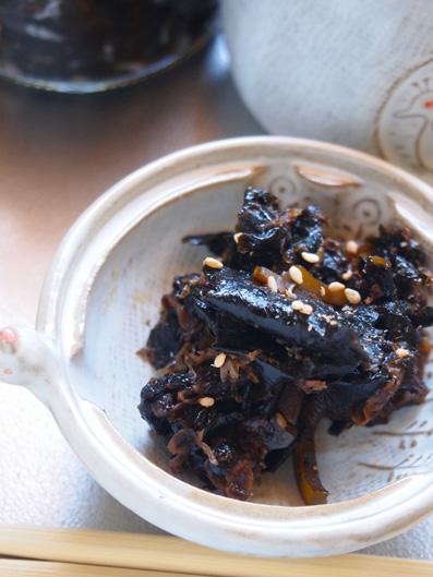 焼き海苔10枚を加えて豪華なつくだ煮