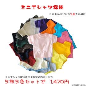 ミニTシャツ福袋