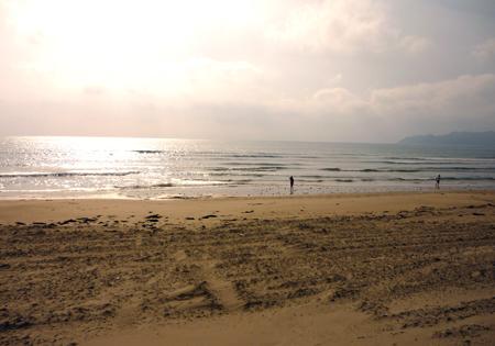 5月末の海