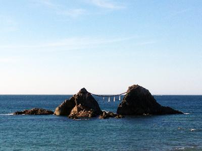 志摩半島の夫婦岩