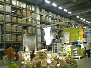 IKEA セルフコーナー1