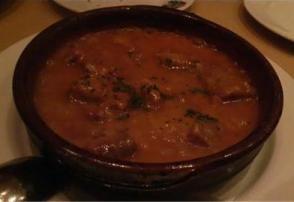 スペイン料理 エスペロ イベリコ豚の煮込み シェリー酒風味