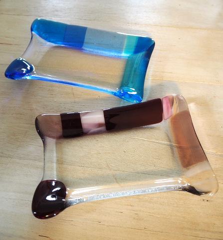 ガラスのお皿
