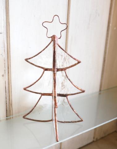 ステンドグラス クリスマスツリー ツリー