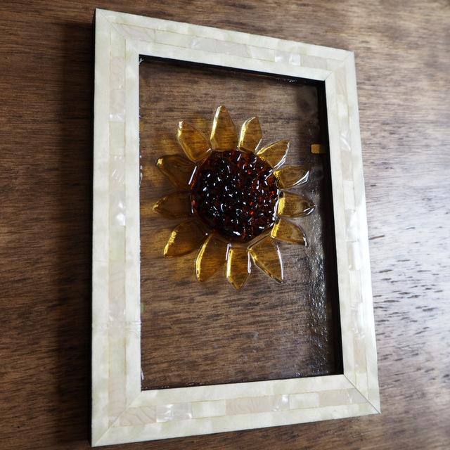 ガラスの向日葵 フュージング Unitガラス工房