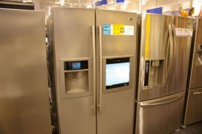 テレビつき冷蔵庫