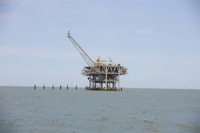 石油採掘所
