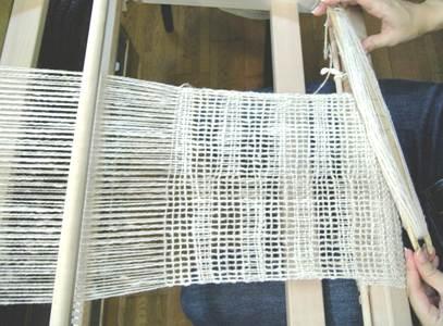 手紡ぎ双糸でレノ