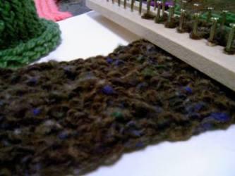フレーム編み機