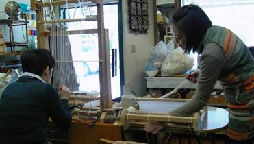 RUG WEAVINGと裂き織り