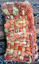 フレーム織り機で