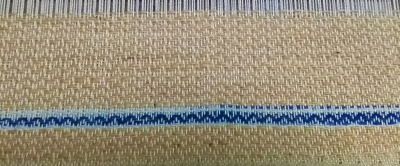 DSC_1125 茶棉と藍段染め糸.jpg