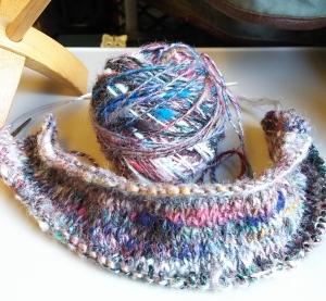 手紡ぎ糸で編むDSC_0799.jpg