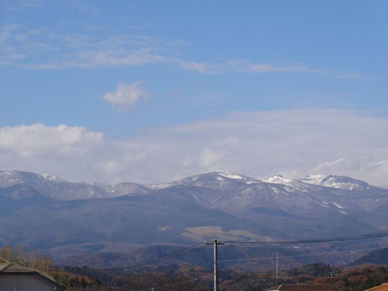 安達太良山 雪