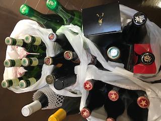 アルコールがいっぱい