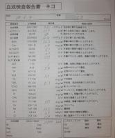 ヒヨ血液検査