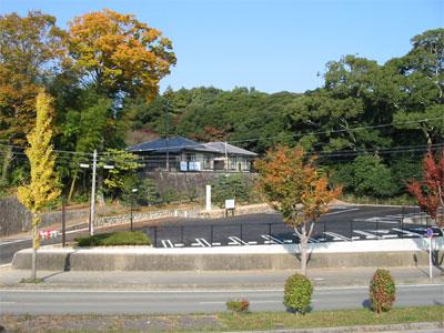 月読宮さん駐車場