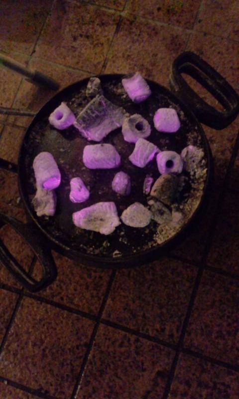 ダッチオーブンと炭火