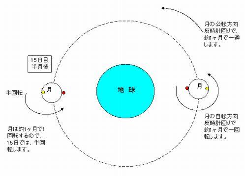 公転 向き 地球
