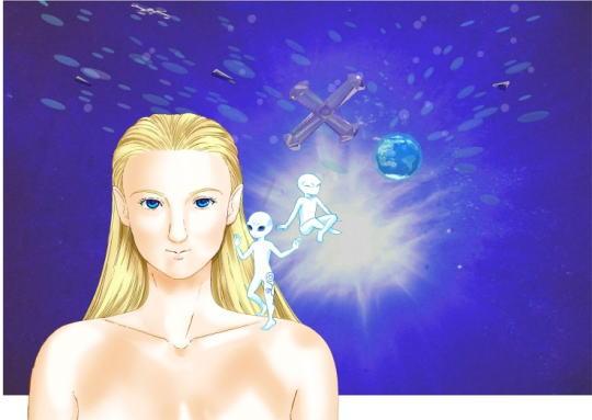 サルーサ、バシャール、シリウスの宇宙船
