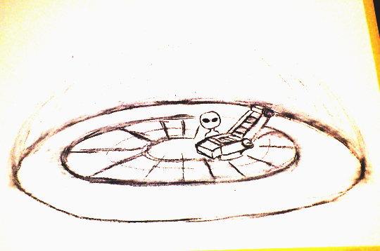 アセンション・シート (エササニの宇宙船の中)