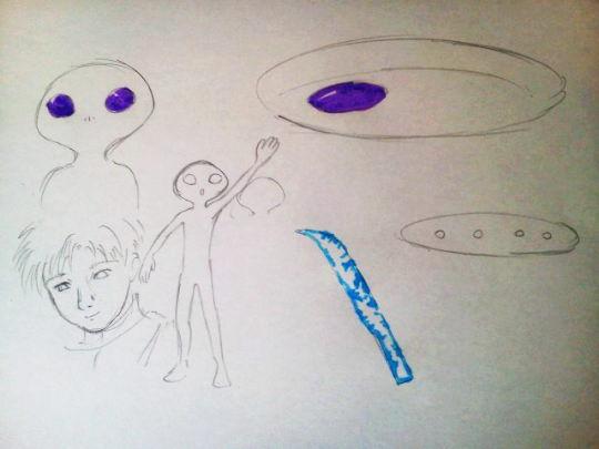 宇宙連合とコンタクト