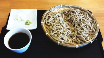 ベリーカフェ、日月 蕎麦、青木