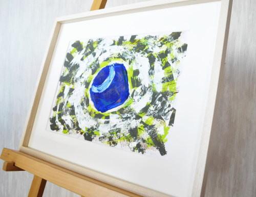 創造の青 4 Takahiro Art