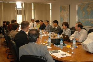 ブラジル外務省でのミーティング