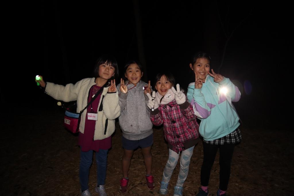 春の森キャンプ