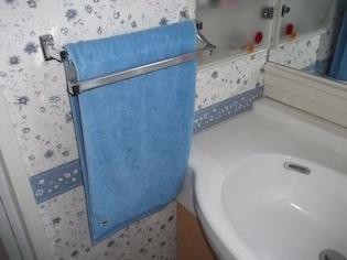 from scope apartment / house towel フェイスタオル サニースカイ