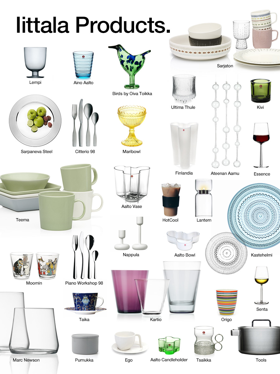 iittala Products.