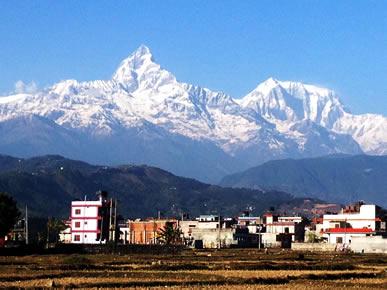 ネパール、フィッシュテール、アンナプルナヒマール