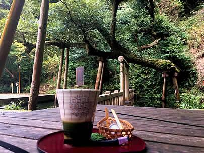 鹿島神宮 御手洗池 湧水コーヒー
