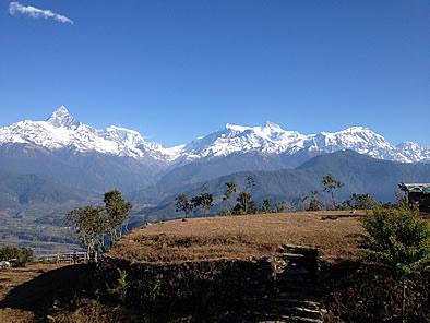 ネパール 山景色 ヒマラヤンジェムスネパール