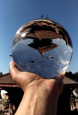 ガネーシュヒマール産 ヒマラヤ水晶丸玉 5.8kg