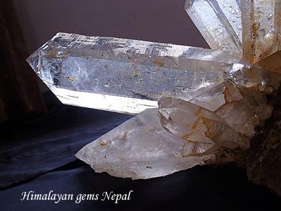 ヒマラヤ水晶 ノースウェスタン、ネパール ヒマラヤンジェムス、ネパール