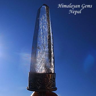 ガネーシュヒマール産 ヒマラヤ水晶ペンダント ヒマラヤンジェムス、ネパール