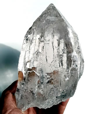 ガネーシュヒマール産 ヒマラヤ水晶 ヒマラヤンジェムス、ネパール