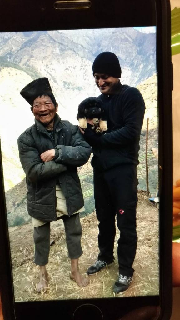 ヒマラヤ村 100歳のおじいちゃn
