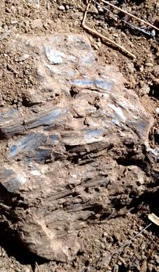 ガネーシュヒマール 山景色 カイヤナイト