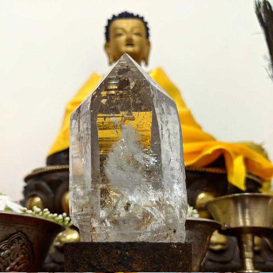 ネパール ガネーシュヒマール産 ヒマラヤ水晶 仏陀の石