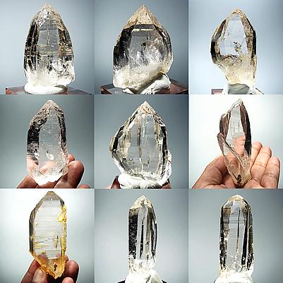 ネパール ガネーシュヒマール産 ヒマラヤ水晶 シェルトゥン産