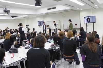 関西美容専門学校画像