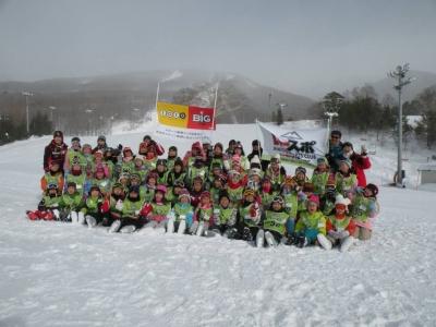 いよいよ2014シーズン「いーはとーぶスキー学舎」が始まりました。
