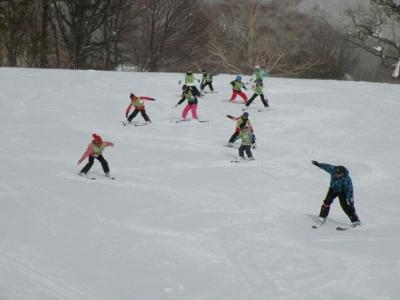 体全部でスキーを楽しんでいました!!