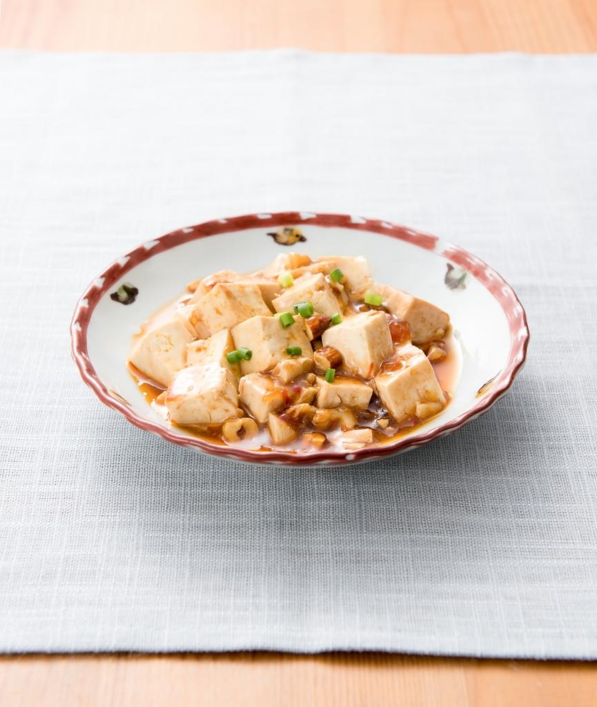 余った餃子の餡で麻婆豆腐