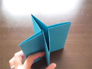 自立する紙工作
