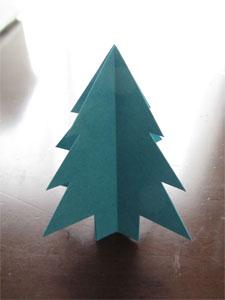 紙で作るクリスマスアイテム