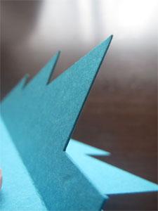 画用紙で作る季節の工作